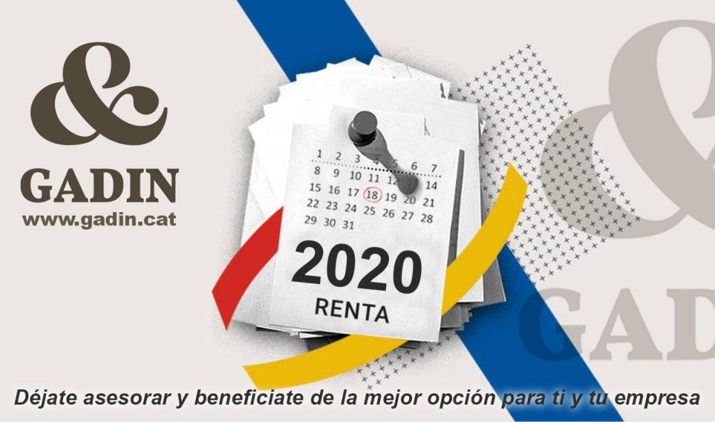 campanya renta 2020